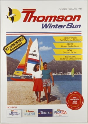 1989 Thomson winter sun brochure