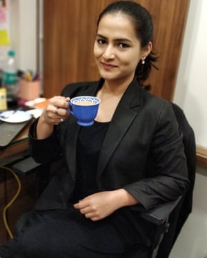 Indian lawyer Rutuja Shinde.