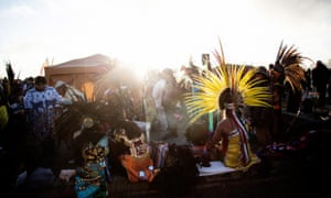 The Indigenous People's Thanksgiving Day is a sunrise ceremony celebrated annually on Alcatraz Island.