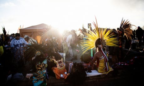 A Thanksgiving bonfire at dawn: celebrating Native American resistance on Alcatraz