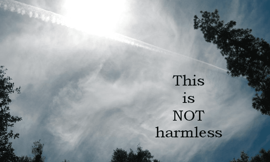 A screengrab of a picture found on the Sierra Nevada Geoengineering Awareness website.