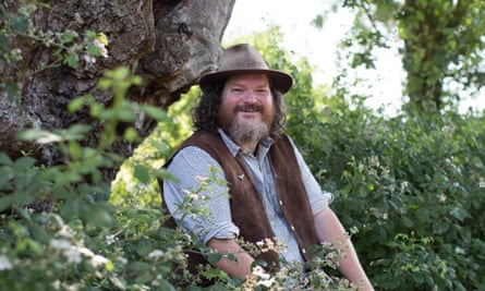 Tor Wesbter, tour guide and contributor to For The Love of Trees
