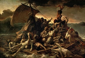 The Raft of the Medusa (Le Radeau de la M duse), 1818-1819. Found in the collection of the Louvre, Paris.The Raft of the Medusa (Le Radeau de la M duse), 1818-1819. Artist: G ricault, Th odore (1791-1824) (Photo by Fine Art Images/Heritage Images/Getty Images) survival|G ricault|Th odore M duse|M duse