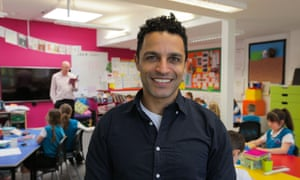 Challenging assumptions': Dr Javed Abdelmoneim in the classroom in No More Boys and Girls: Can Our Kids Go Gender Free?