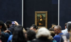 """The Mona Lisa: """"a black hole of anti-art who has turned [the Louvre] inside out""""."""