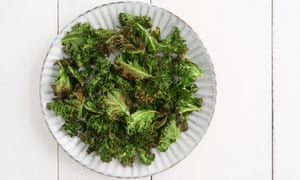 Kale chips – a superfood upgrade on crisps?