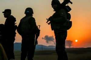 Iraqi Kurdish Regional government's peshmerga forces