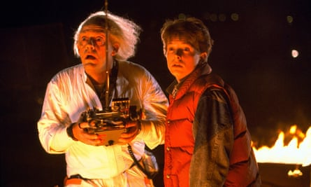 Still no hoverboards? Christopher Lloyd and Michael J Fox in Back to the Future.