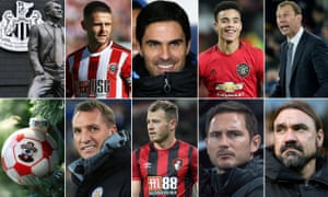 This weekend will be the final game in charge for Duncan Ferguson (top right) while Ryan Fraser (bottom centre) needs to step up for Bournemouth against Burnley.
