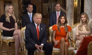 Members of the Trump family