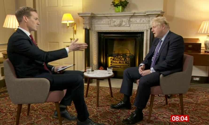 Boris Johnson talks to the BBC's Dan Walker.