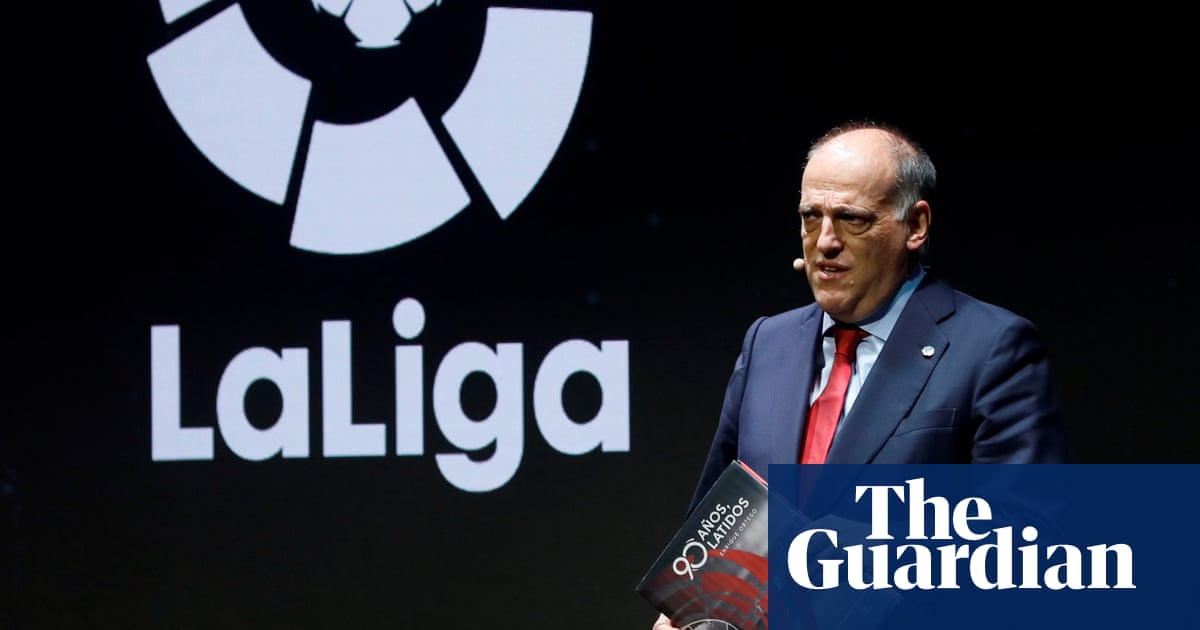 La Liga president criticises Fifa and says richest clubs are 'danger' to game