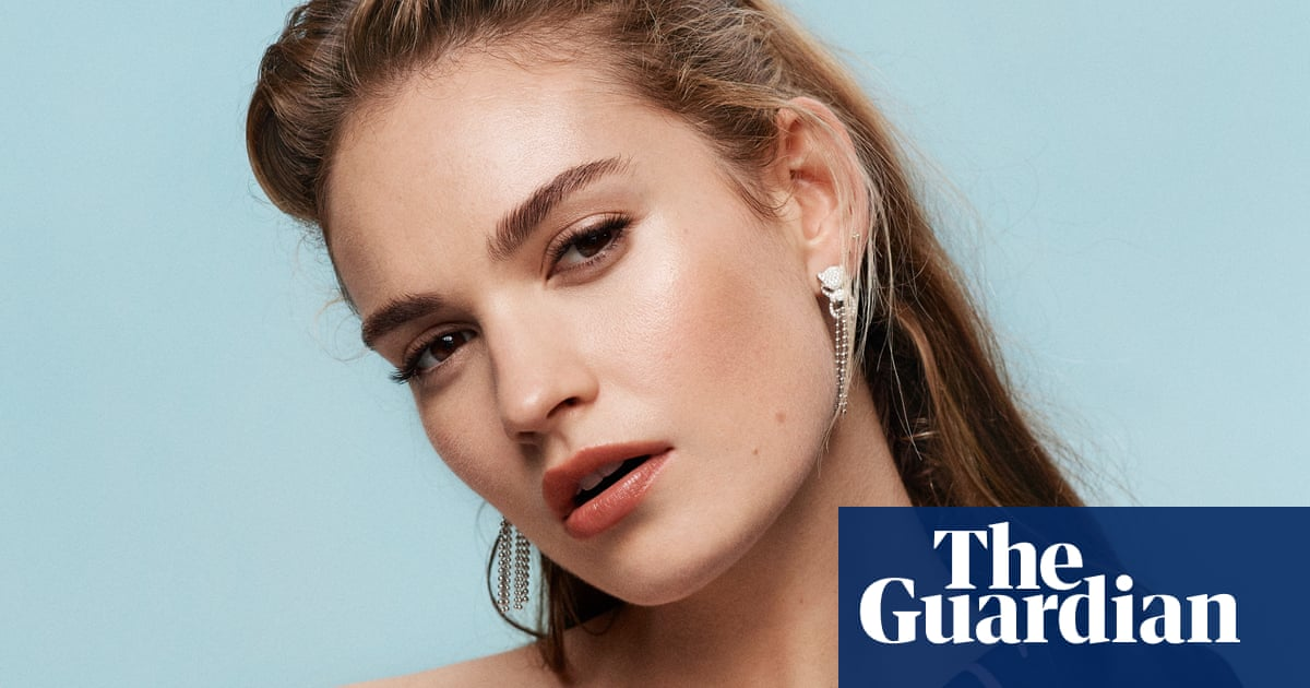 Lily James: I got sucked into the vortex. I didnt know which way to turn