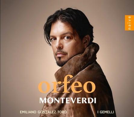 Emiliano Gonzalez Toro/I Gemelli: Monteverdi - Orfeo album cover.