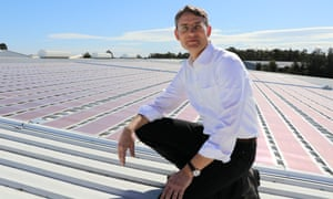 Paul Dastoor believes printed solar cells will help change the way consumers think about renewable energy