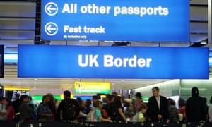 Heathrow airport border delays