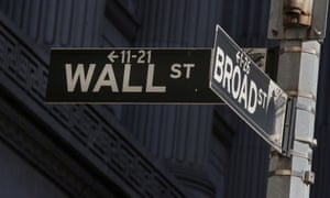 Street signs for Broad Street and Wall Street outside of the New York Stock Exchange