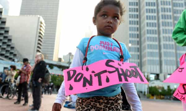 A Black Lives Matter rally in San Francisco.