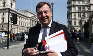 Count Whittingdale … on his way to the House of Commons