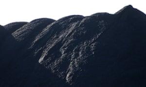 Coal stockpile