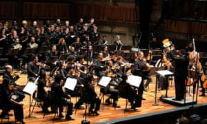 Baritone Roderick Williams and Chineke!, conducted by Anthony Parnther, at the Queen Elizabeth Hall last week.
