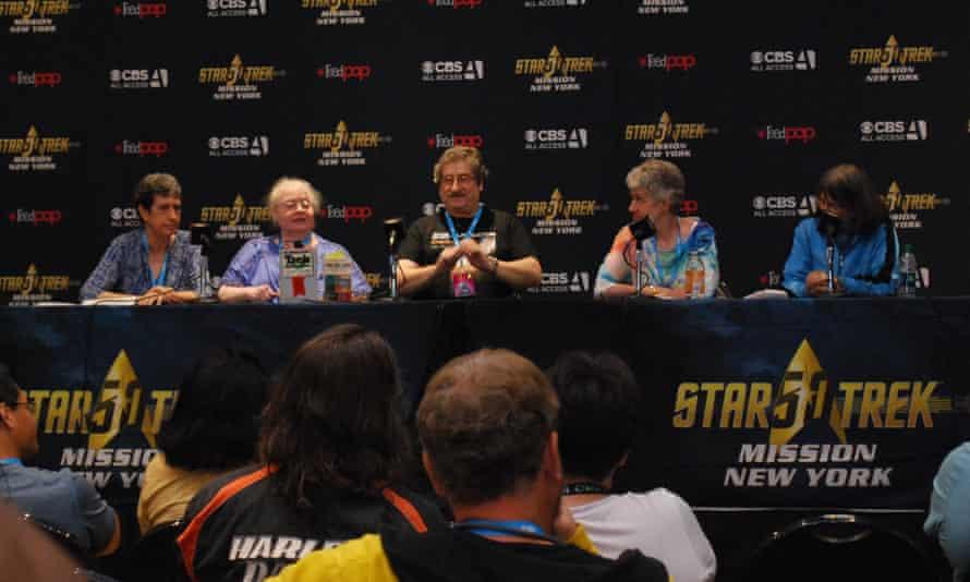 Star Trek convention panel