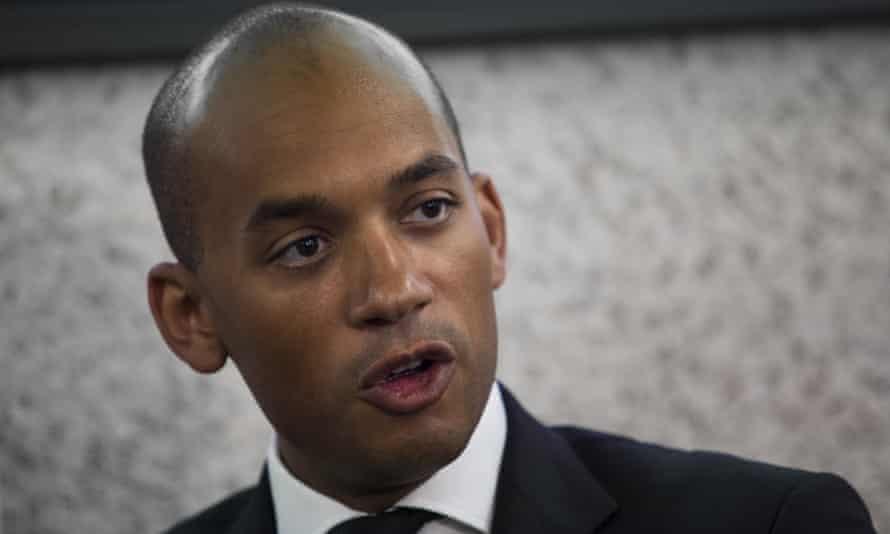 Chuka Ummuna, the Labour MP who chairs Vote Leave Watch: