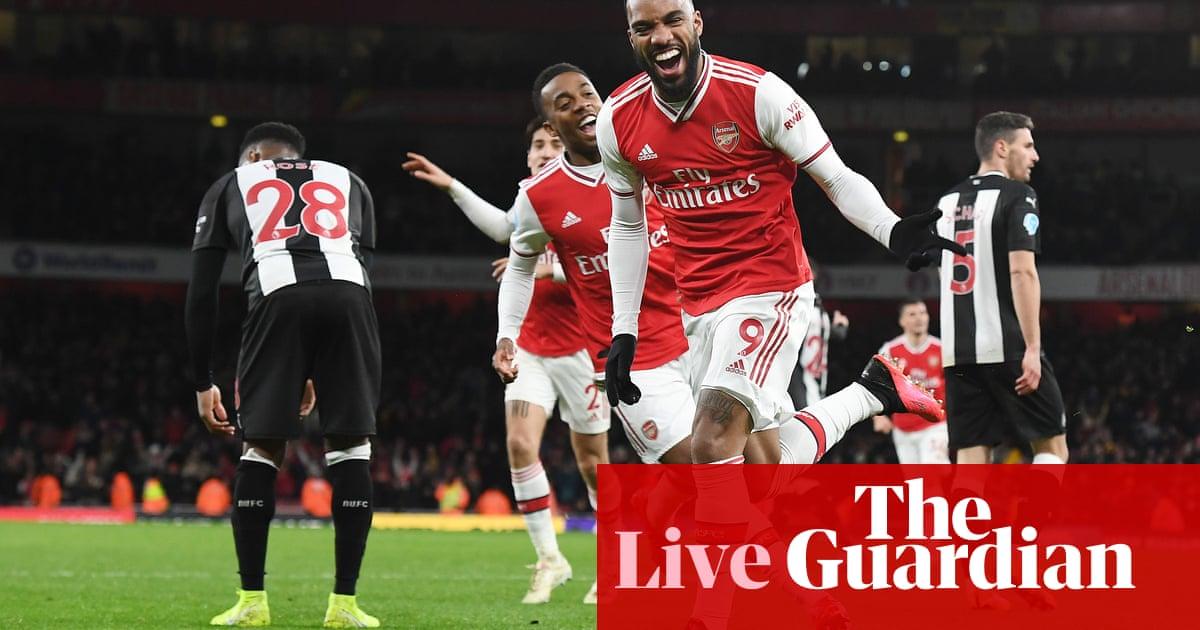 Arsenal 4 0 Newcastle Premier League As It Happened Football The Guardian