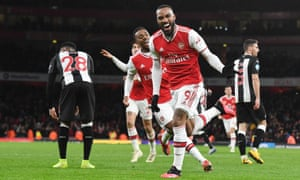 Arsenal 4 0 Newcastle Premier League As It Happened Football The Guardian