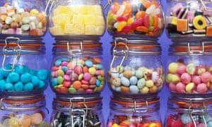 Pick 'n' mix jars