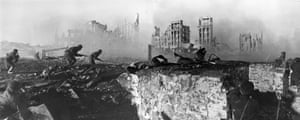 War-torn Stalingrad in 1942.
