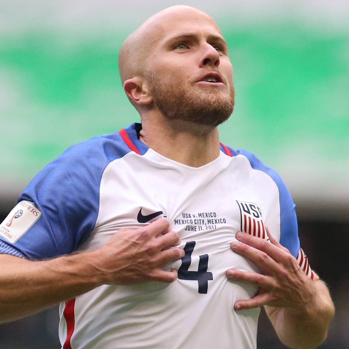 World Cup Qualifier Usa Draw With Mexico After Michael Bradley Wonder Goal World Cup 2018 Qualifiers The Guardian