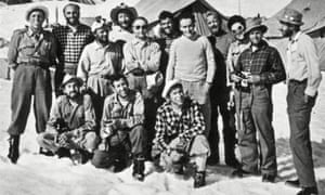 K2 expedition team, 1954.