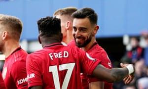 Bruno Fernandes has already struck up an understanding with midfield partner Fred.