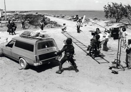 Filming Mad Max