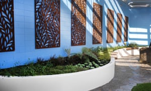 The new sensory garden for maximum- and high-security prisoners at Auckland East prison