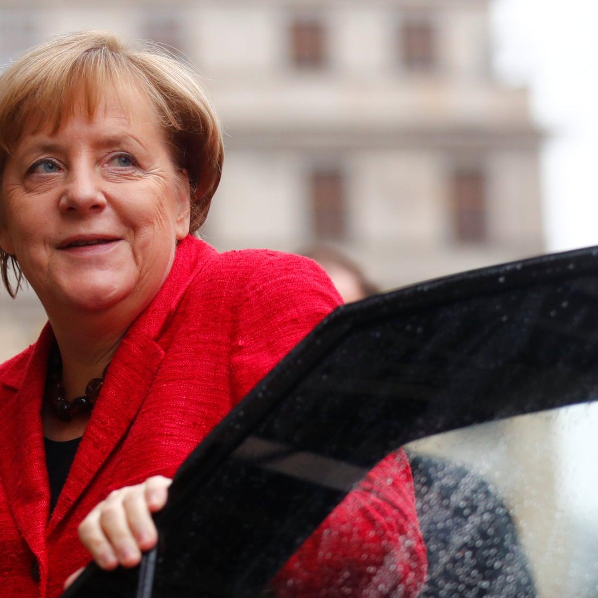 Angela Merkel Clings To Top Spot In Forbes 100 Most Powerful Women List Angela Merkel The Guardian