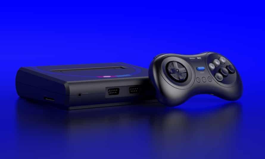 The Mega Sg console