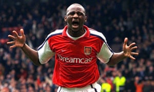 Patrick Vieira's playing style stunned his new team-mates when he joined Arsenal from Milan aged 19.