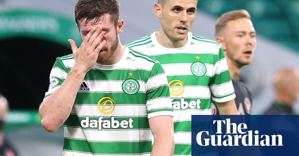 Celtic rue missed Odsonne Édouard chance after Nir Bitton's red card