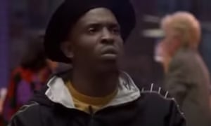 Williams in his breakthrough movie role as High Top, right hand man to Tupac's Tank in the 1996 movie Bullet