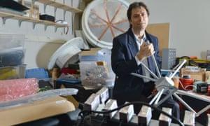 Max Tegmark in his lab at MIT.
