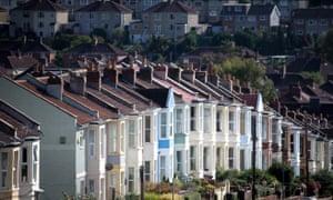 Housing in Bristol, England.