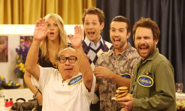 'A confluence of narcissism, evil and sociopathic behaviour' … It's Always Sunny in Philadelphia.