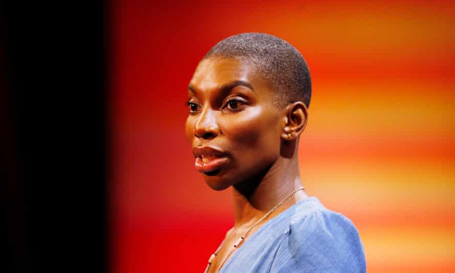 Michaela Coel delivers the MacTaggart lecture at the 2018 Edinburgh international television festival. In 43 years, she was only the fifth woman to take the podium and the first person of colour.