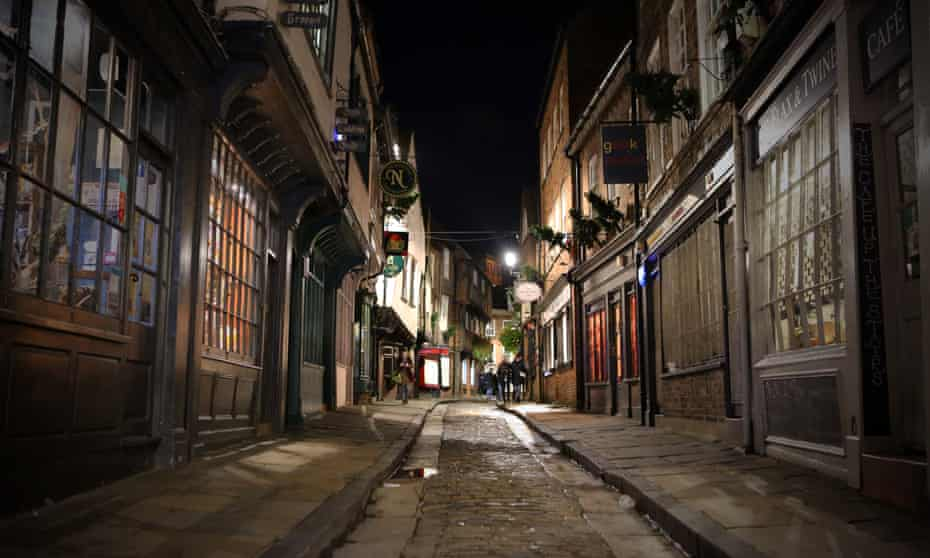 The Shambles in York city centre