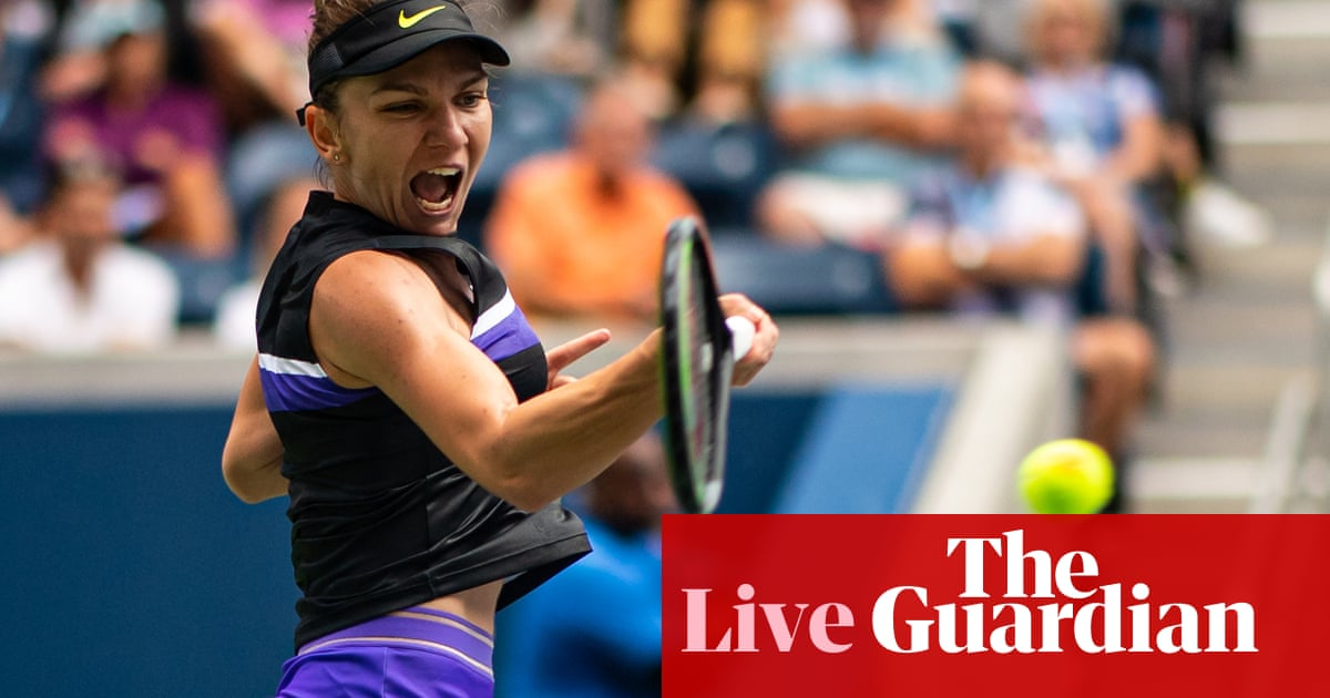 US Open 2019: Evans, Kvitova, Zverev, Halep, Osaka and Konta in action – live!