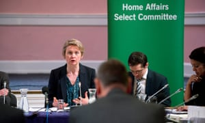 Yvette Cooper MP, chair of the home affairs select committee.