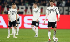 Germany may be less enamoured with the Nations League after relegation