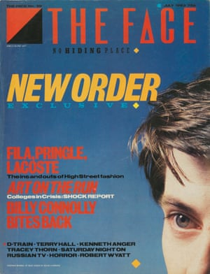 Cover star … New Order in July 1983.